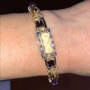 Cuff bracelet from Henri Bendel